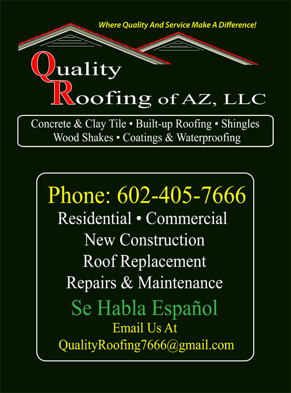 Quality Roofing Of AZ
